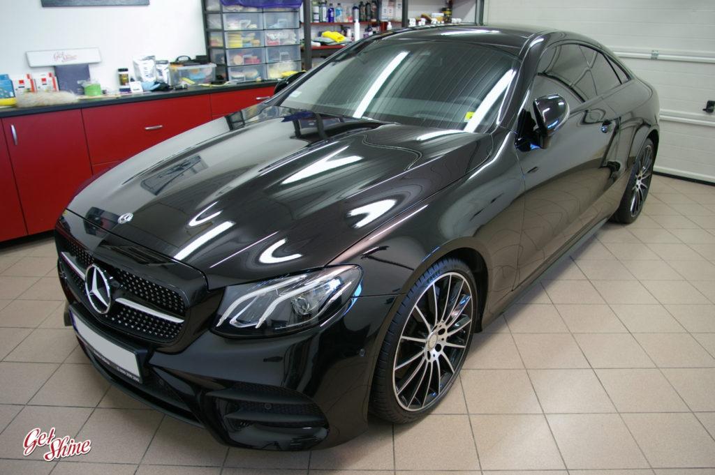 Efekt po detailingu Mercedesa