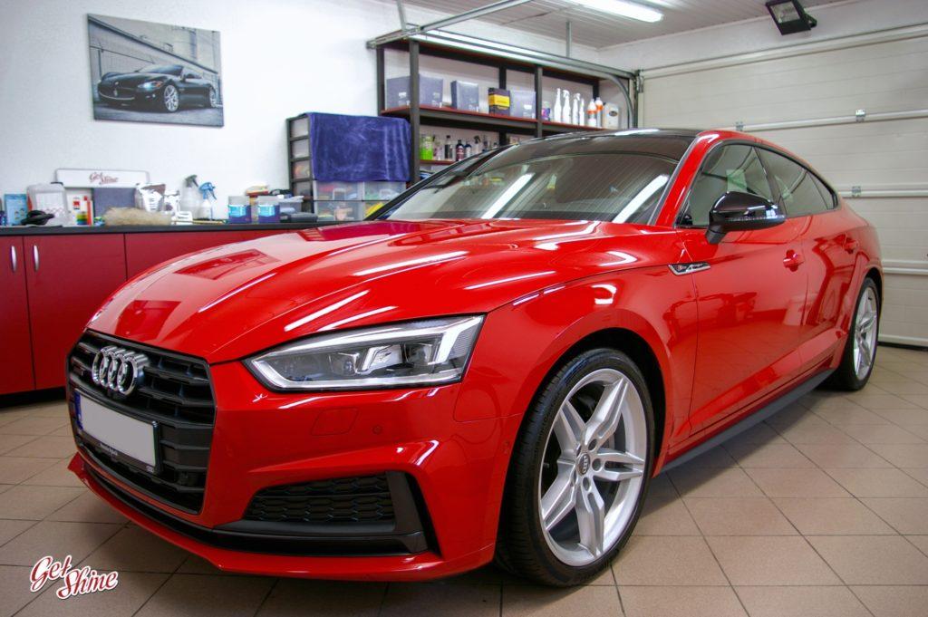 Efekt końcowy pełnej korekty Audi A5