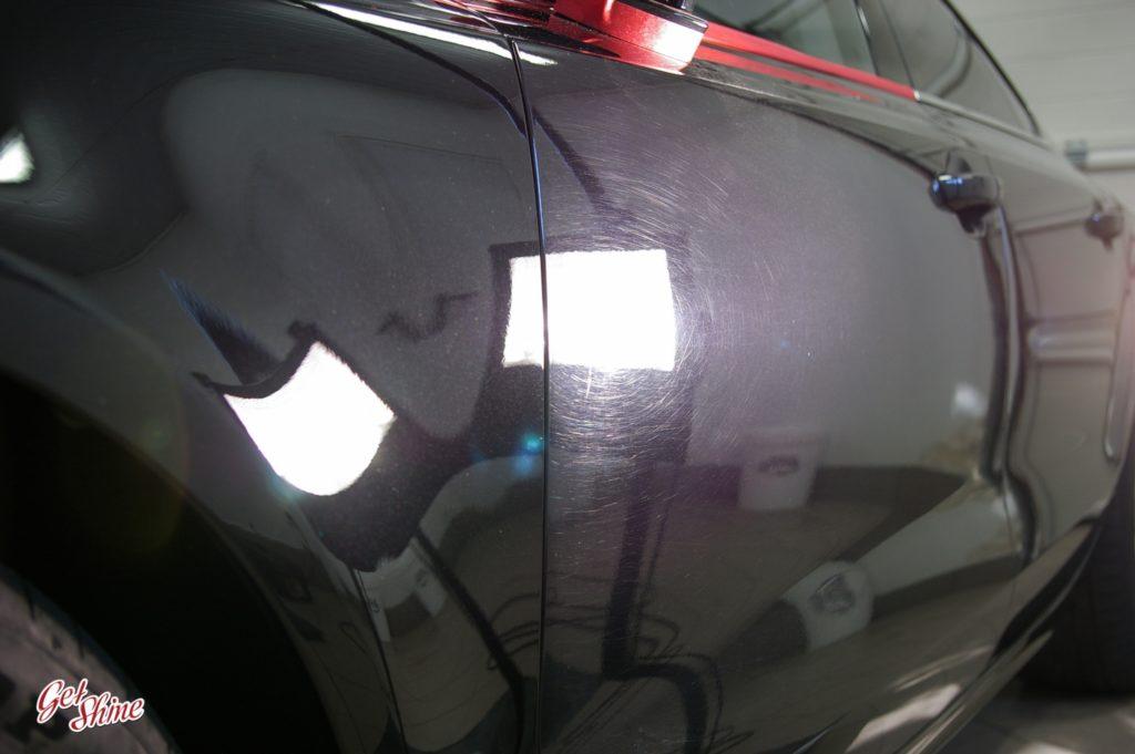 Efekt polerowania lakieru Audi A7