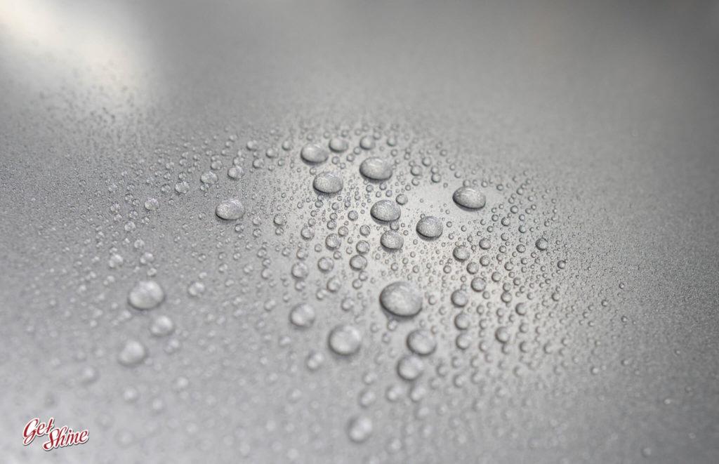 Efekt hydrofobowy powłoki ceramicznej