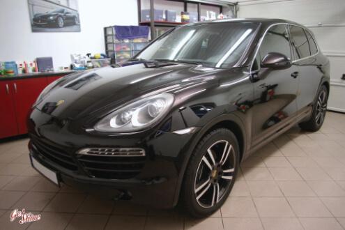 Porsche Cayenne – zabezpieczenie woskiem Zymol Glasur
