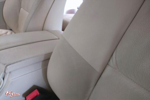 BMW5 – Czyszczenie wnętrza, renowacja skór.