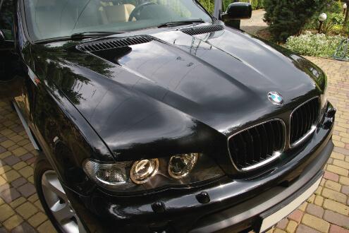 BMW X5 korekta lakieru wraz z zabezpieczeniem