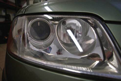 VW Passat B5 – renowacja reflektorów