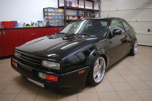 VW Corrado – detailing korekta lakieru