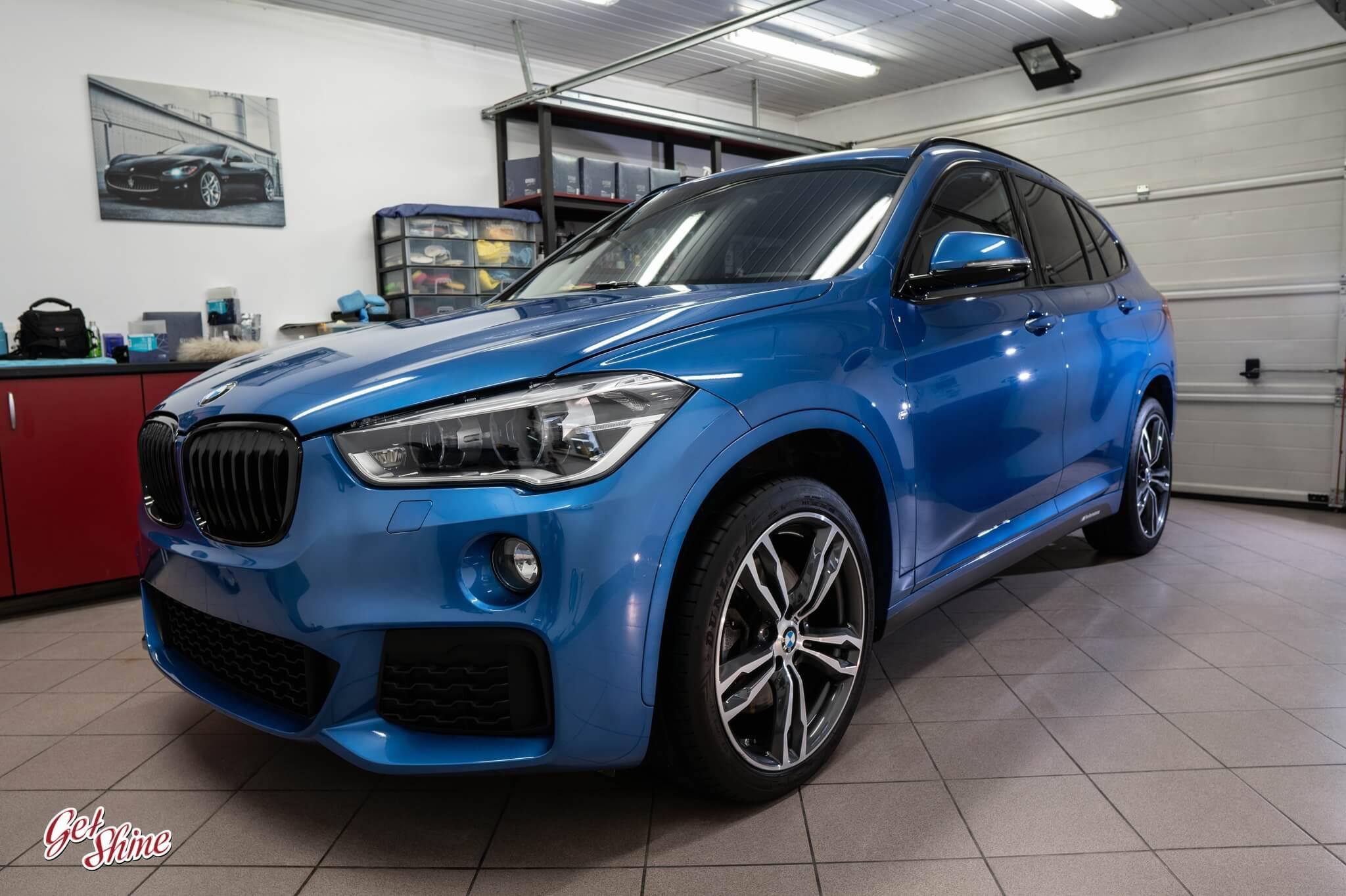 BMW X1 – Korekta lakieru, powłoka ceramiczna