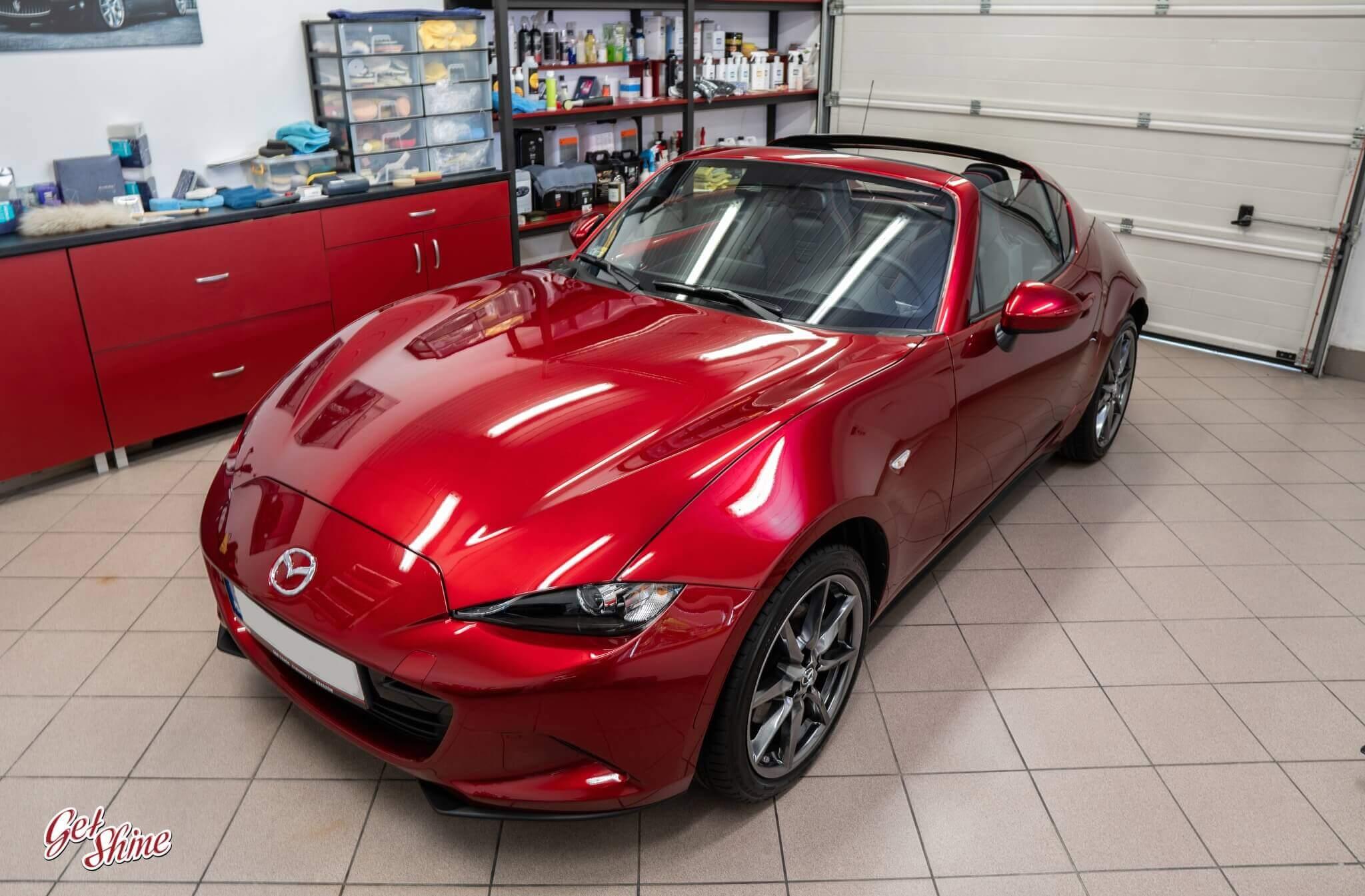 Mazda MX5 – powłoka ceramiczna, zabezpieczenie nowego auta