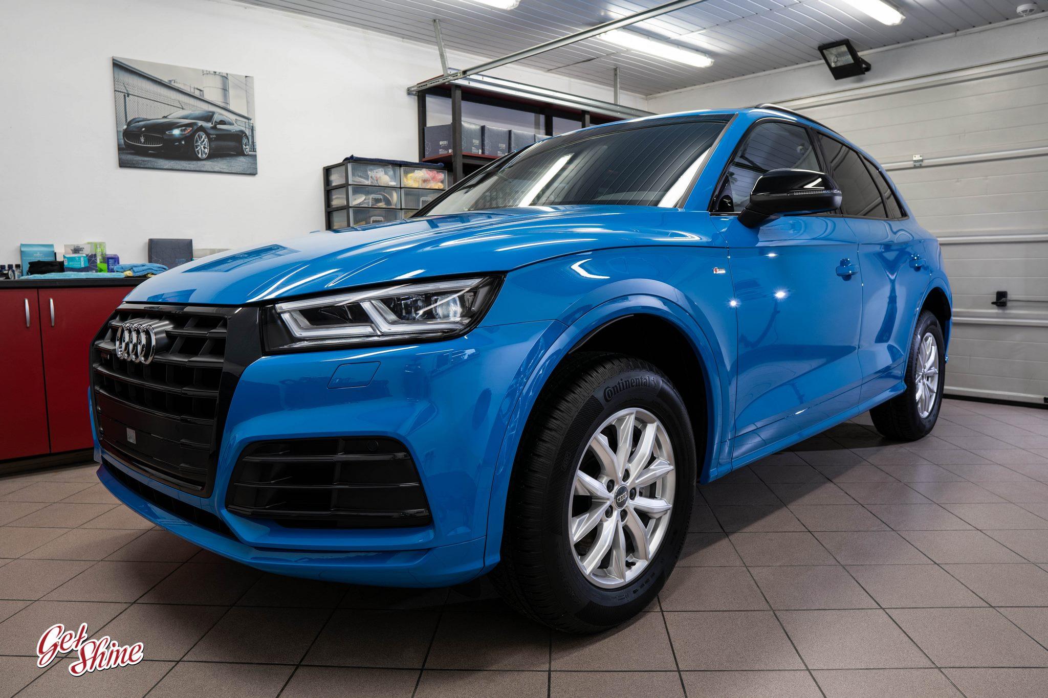 Audi Q5 – ochrona nowego auta, powłoka ceramiczna Gyeon Syncro