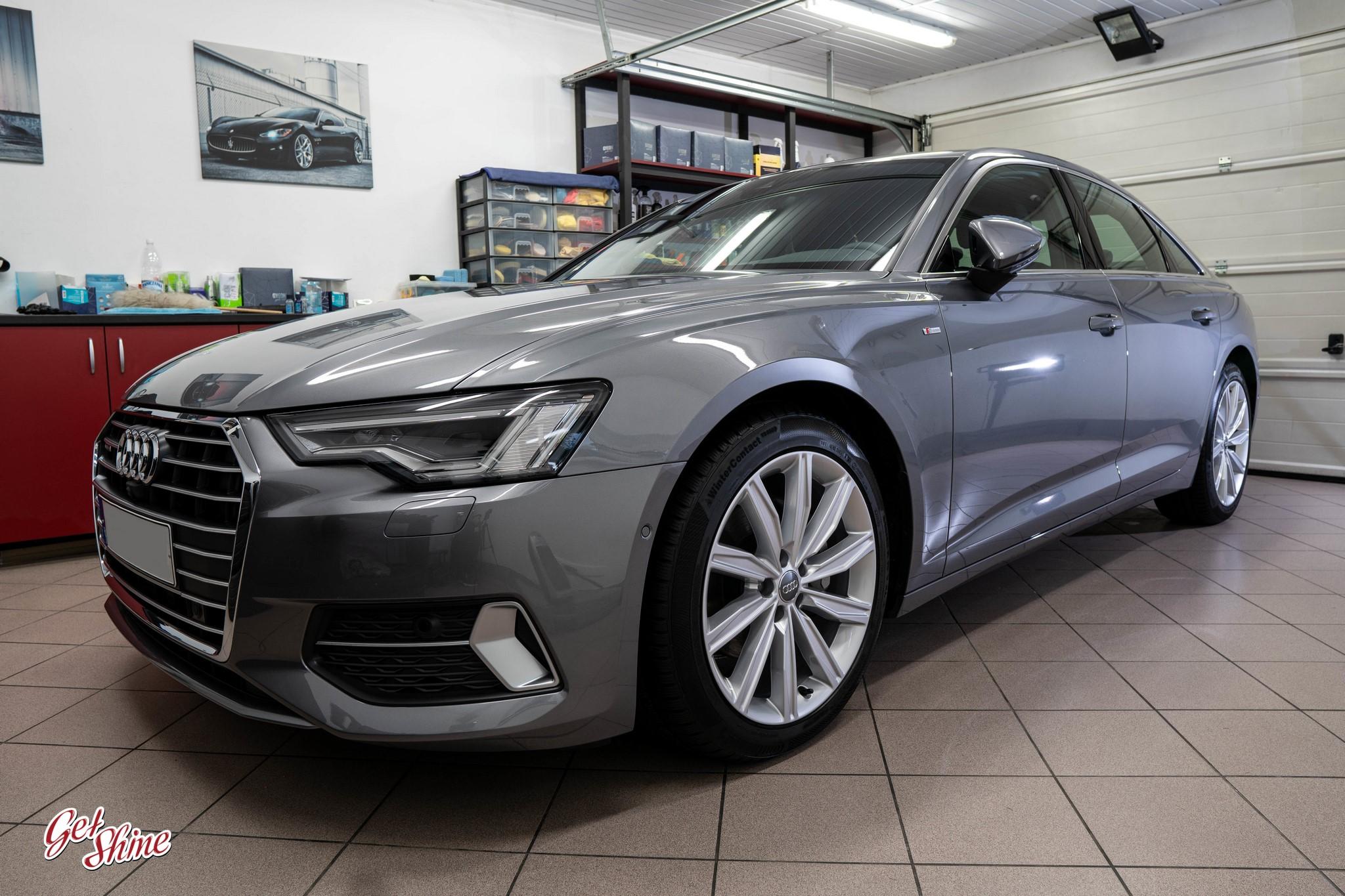 Audi A6 – ochrona nowego auta, powłoka ceramiczna