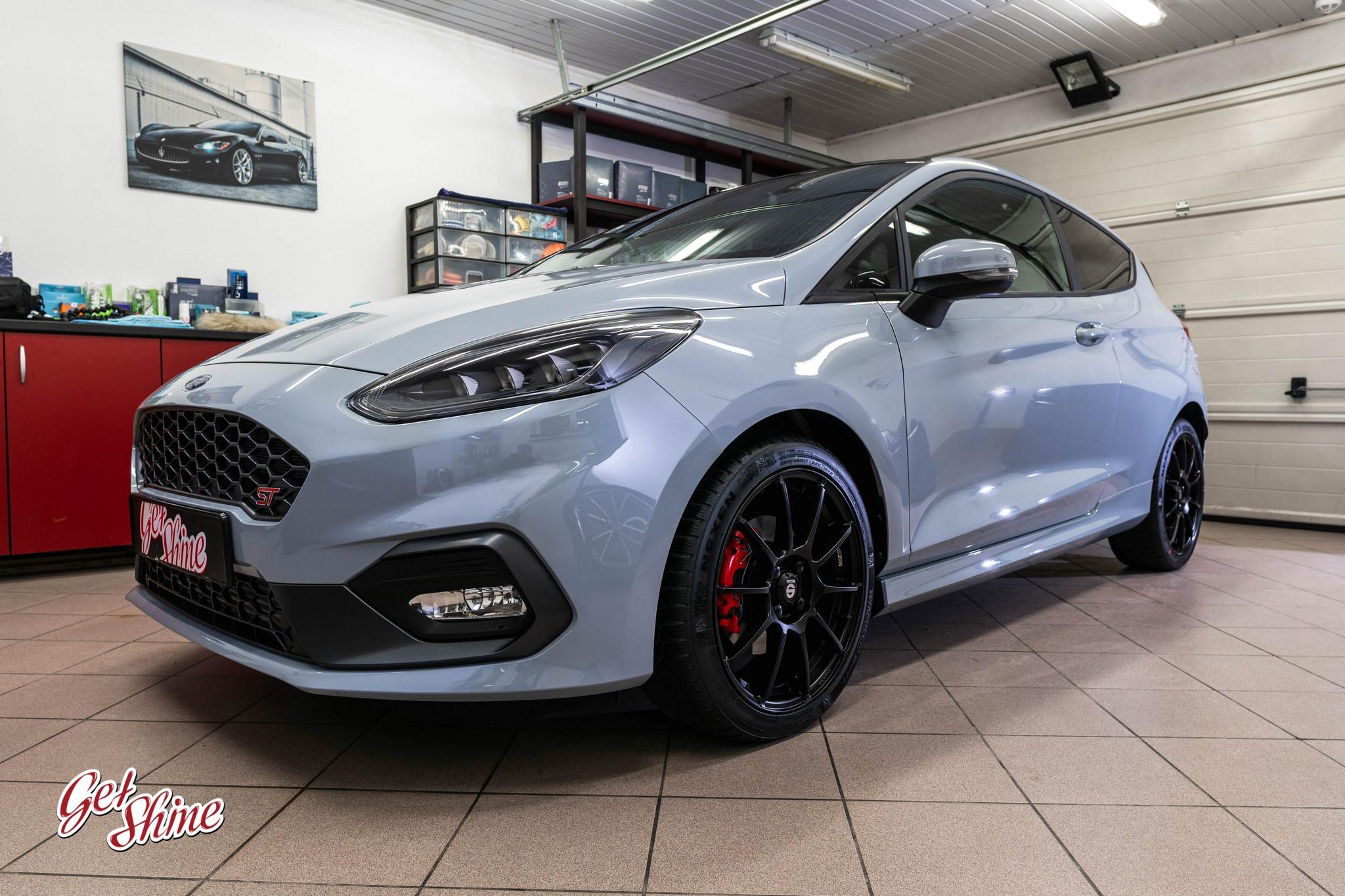 Ford Fiesta ST – zabezpieczenie nowego auta, powłoka ceramiczna Gyeon Quartz