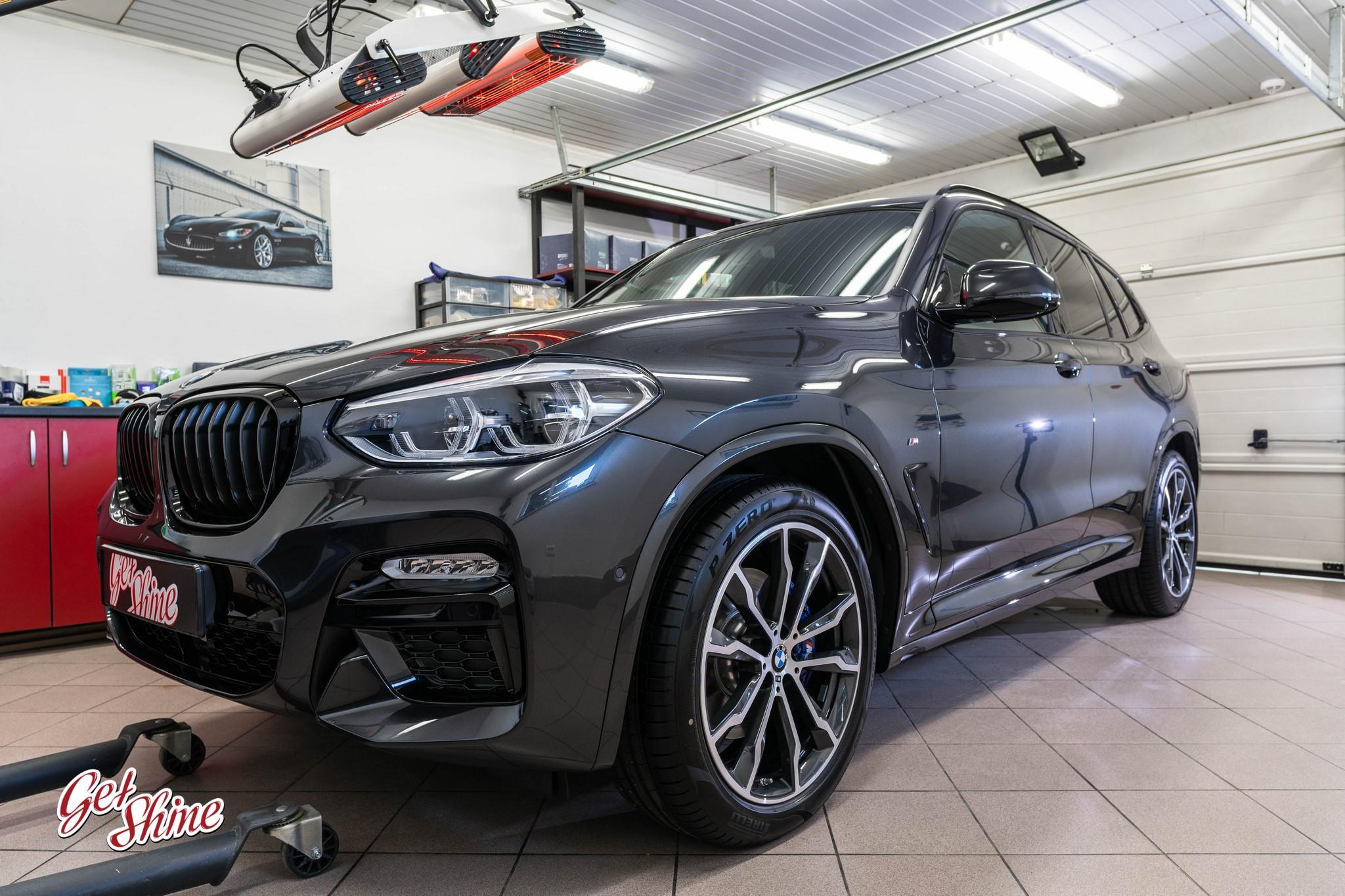 BMW X3M – Nowe auto, zabezpieczenie powłoką ceramiczną Gyeon