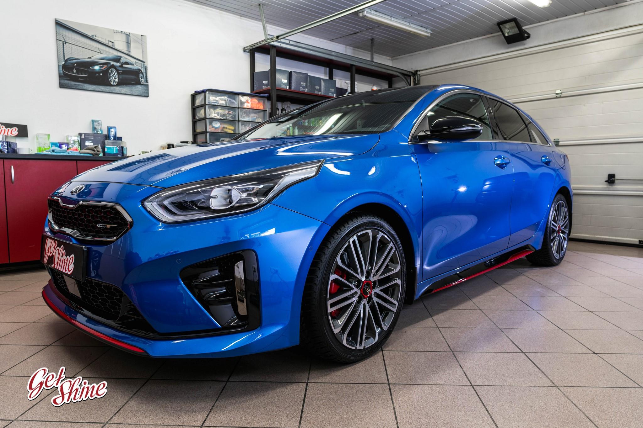 Kia ProCeed GT – zabezpieczenie nowego auta, ceramika